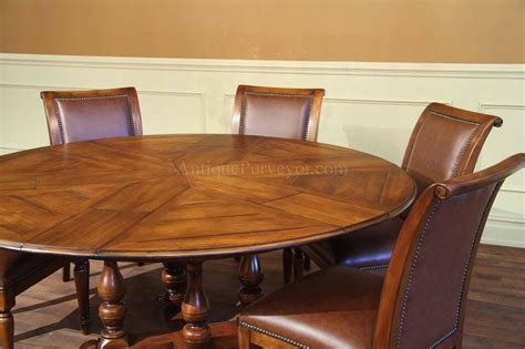 round walnut large round solid walnut dining with hidden leaves