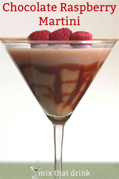 raspberry martini chocolate raspberry martini recipe dishmaps