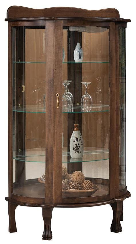 what goes in a curio cabinet curio cabinet from dutchcrafters amish furniture