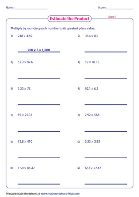 Estimating Fractions Worksheet by Estimating Fractions Worksheets 4th Grade Our 5 Favorite