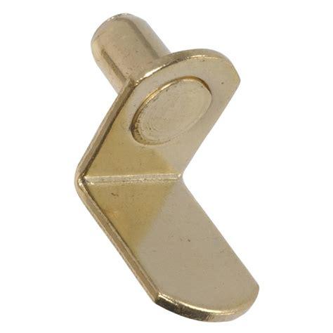5 Mm Shelf Pins by The Hillman 883865 4 Pack 5 Mm Brass L Shaped Shelf