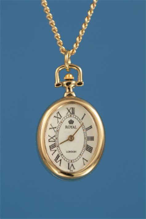 Royal London Oval Ladies Fob Watch Pendant