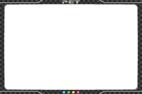 pet frame overlay megaman battle chip challenge by