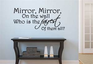 mirror stickers for walls mirror on the wall quotes quotesgram