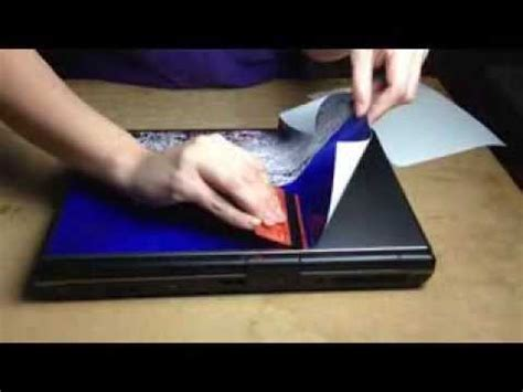 como personalizar tu portátil con vinilo youtube
