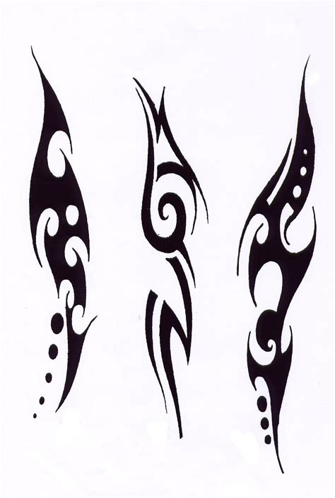 simple body tattoo designs tribal design ideas 0115 http tattoosnet
