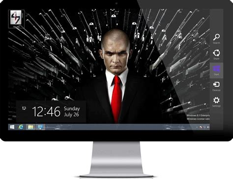 Hitman Themes For Windows 10 | hitman agent 47 theme for windows 10 and windows 7