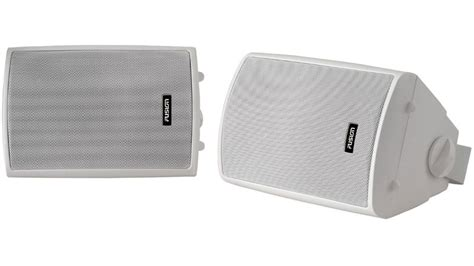 external boat speakers fusion os 420 external box speaker pair for marine boat