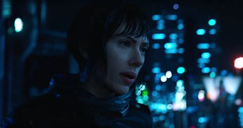 movie section 9 new featurette for ghost in the shell starring scarlett