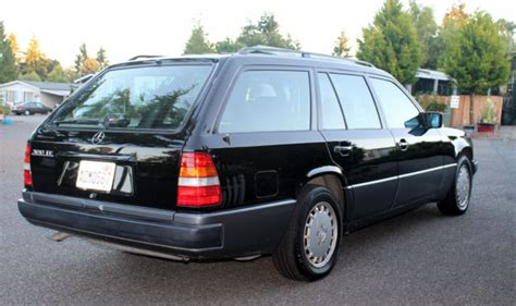 how petrol cars work 1992 mercedes benz 300te 1992 mercedes 300te estate wagon rare black with black leather low miles for sale mercedes