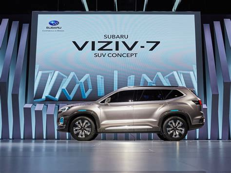 subaru viziv 7 subaru just gave a glimpse at the future of its business
