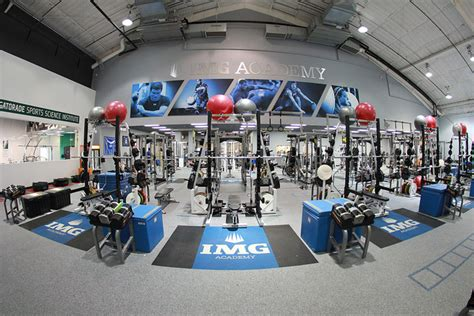 img academy weight room img academy launches track field and cross country program sports techie