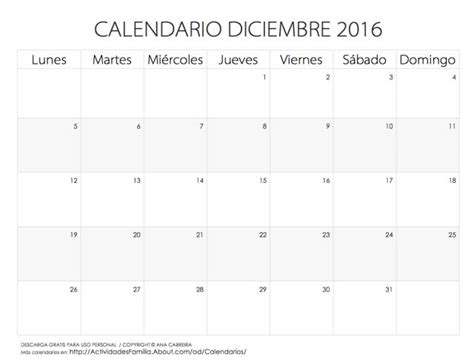 Calendario Diciembre 17 Best Images About Calendario On Tes Simple