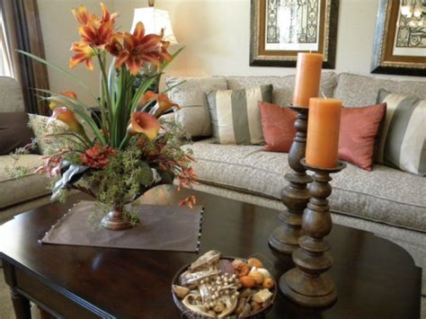 Centerpieces For Table In Everyday Life Homesfeed Living Room Table Centerpieces