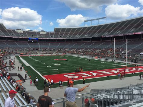 Ohio Stadium Section 35a Rateyourseats Com