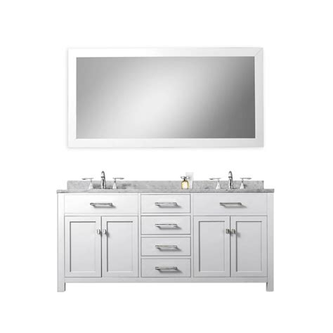 60 inch white bathroom vanity double sink 60 inch double sink bathroom vanity in pure white