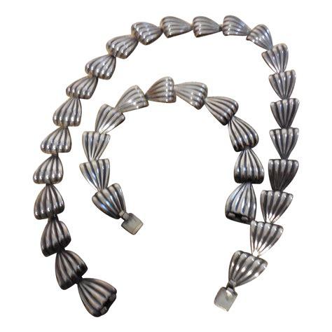 Sterling Silver Necklace Bracelet sterling silver necklace and bracelet sold on ruby