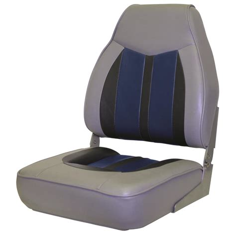 pontoon boat seats wise sportsmans 2 mid back boat seat 671376 pontoon