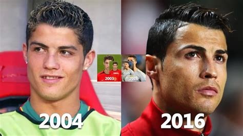 cristiano ronaldo transformation before and after youtube