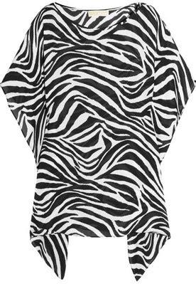 Mk Mn Tunic michael by michael kors zebra top 8 animal print must