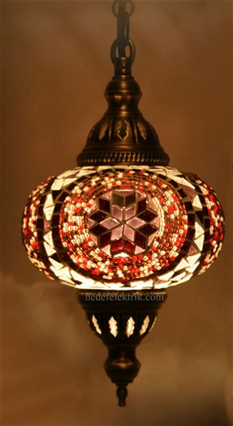 Turkish Pendant Light Turkish Style Mosaic Pendant L 15 Cm Mediterranean Lighting Other Metro By Hedef