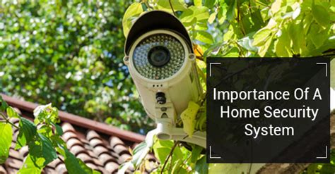 why it s important to a home security system