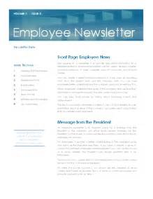 Office Newsletter Template by Newsletters Office