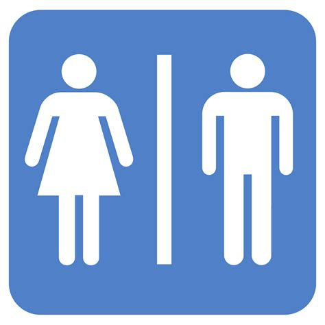 bathroom sign person bathroom people clipart best
