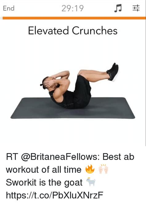 best crunches end 2919 elevated crunches rt best ab workout of all time