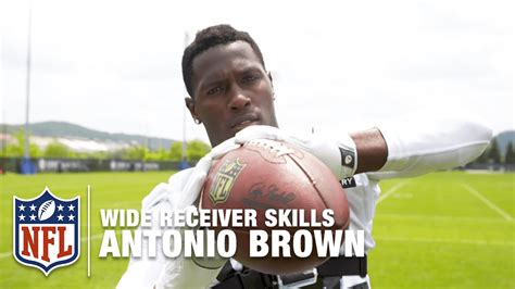 how to be a better wide receiver antonio brown gopro footage how to be a great wide
