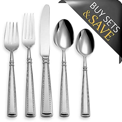 bed bath and beyond silverware buy oneida 174 couplet 20 piece flatware set from bed bath