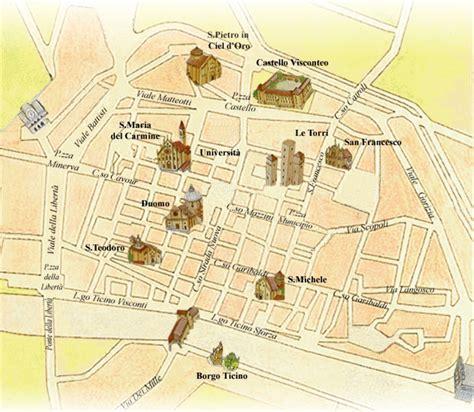 mappa certosa di pavia sulle tracce di leonardo a pavia la mappa infografica