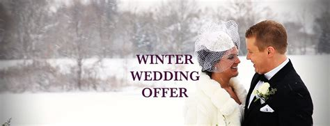 winter wedding offers midlands alfreton derbyshire weddings events functions