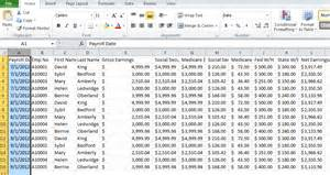 employee payroll excel template employee payroll information sheet spreadsheets