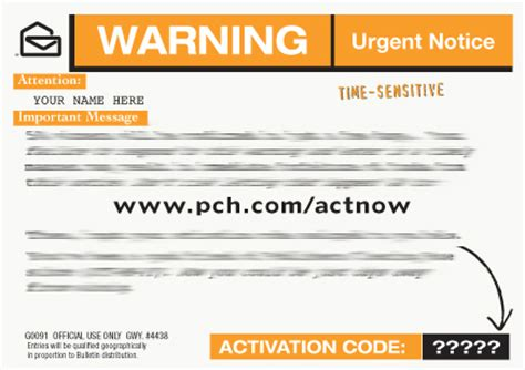 Pch Act Now - image gallery pch actnow