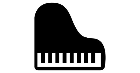 Top Home Plans by Piano Top View Free Music Icons