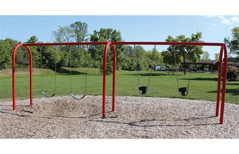 Swing In The by 3 5 Quot Arch Swing Playground Swing Sets