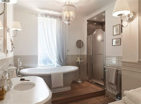 Small Master Bathroom Designs by St Petersburg Apartment With A Traditional Twist