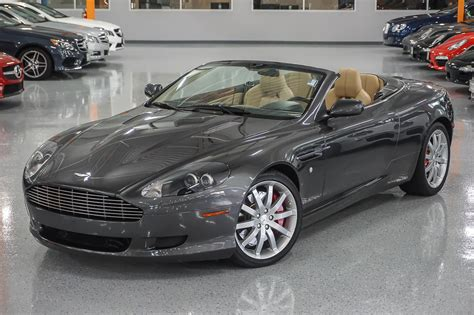 used aston martin db9 pre owned 2007 aston martin db9 convertible convertible in