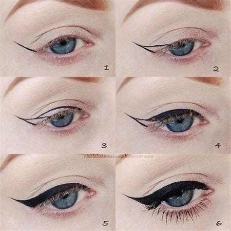 tutorial eyeliner simple top 10 eyeliner tutorials for irresistable cat eyes top