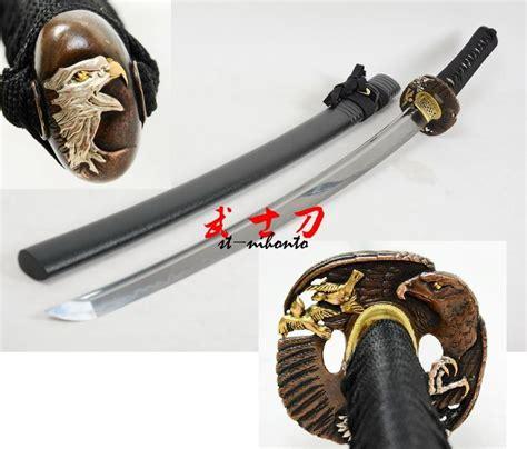Handmade Japanese Samurai Swords - handmade japanese samurai katana clay tempered sanmai
