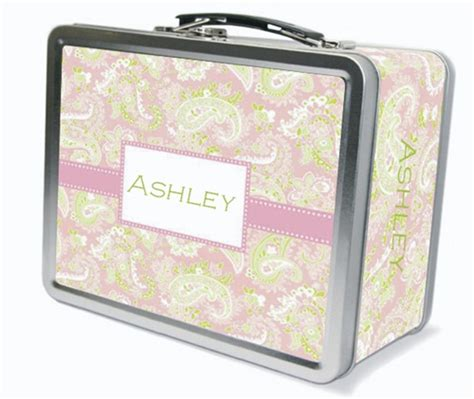 Lunch Box Polos Pink personalized lunch boxes
