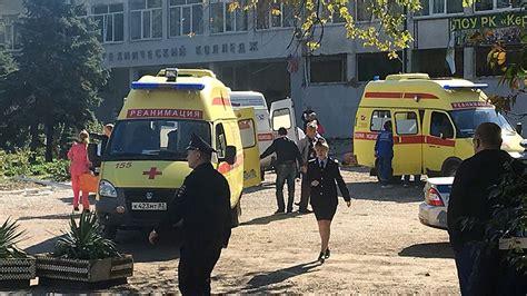 terror attack  crimean college killing   injuring