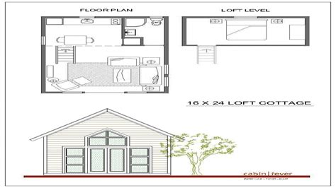 loft cottage plans 16x24 cabin plans with loft 16x20 cabin small cabin plans