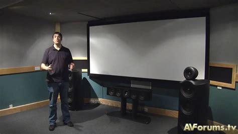 tutorial speaker positioning  home cinema youtube
