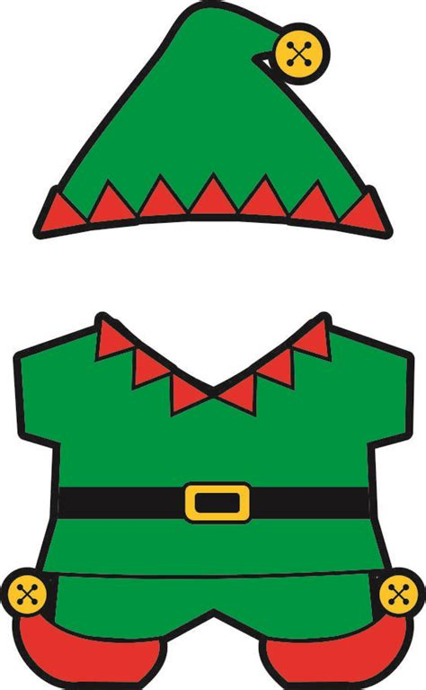 free printable elf yourself printable christmas buddy paper dolls