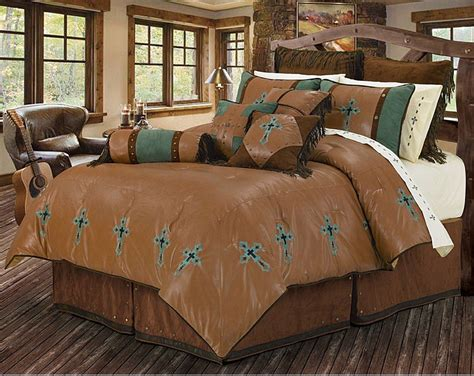 leather comforter set 28 images cheyenne tooled faux