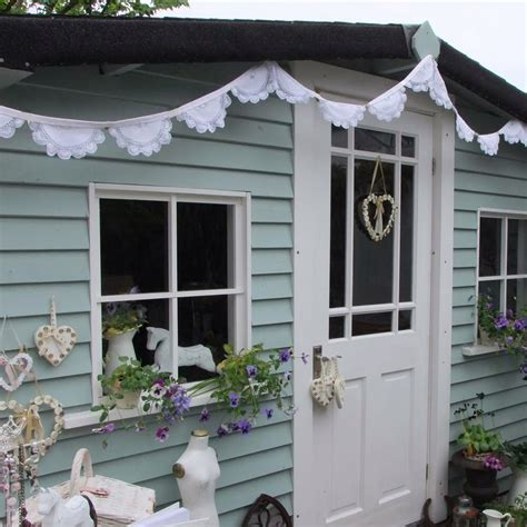 Coloured Garden Sheds by Pretty Colour Scheme For Painting Shed Garden