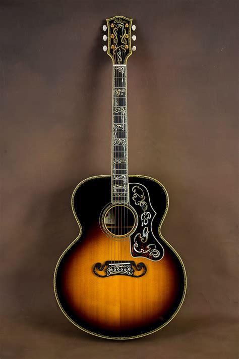 Custom Handmade Acoustic Guitars - gibson sj 200 master museum custom acoustic guitar j 200