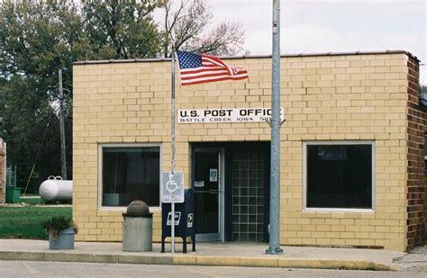 battle creek ia post office photo picture image iowa